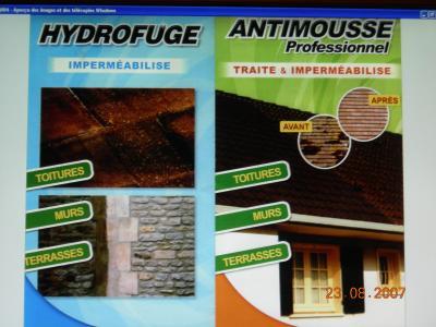 antimousse et hydrofuge