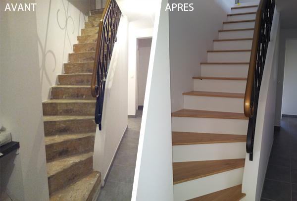comment habiller un escalier beton