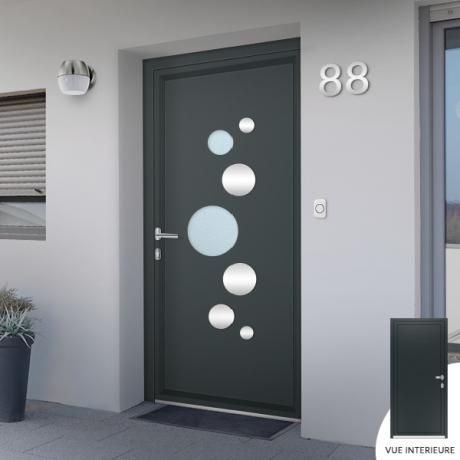 Porte d'entrée: acier ou aluminium?